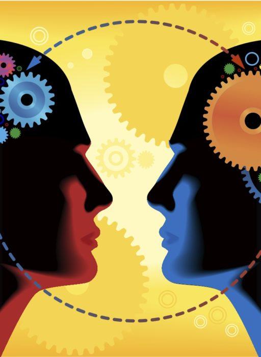 ¿Dónde estamos cuando hablamos con los demás?