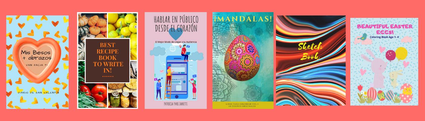 Diarios, Tutoriales, Journals, Mandalas,  Libros para Colorear, Dot Grids, Libros para Niñas, entra y curiosea!
